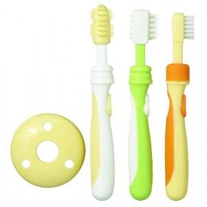 Buy Pigeon Training Toothbrush Lession 123 Set - Nykaa