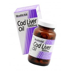 Buy HealthAid Cod Liver Oil 1000mg - 60 Capsules - Nykaa