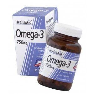 Buy HealthAid Omega 3 750mg - Nykaa