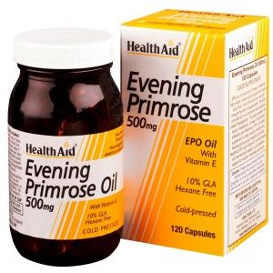 Buy HealthAid Evening Primrose Oil 500mg With Vitamin E - 120 Capsules - Nykaa