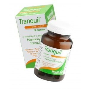 Buy HealthAid Tranquil - Magnolia, Valerian And St John's Wort Complex - Nykaa