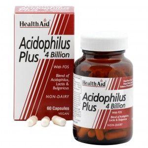 Buy HealthAid Acidophilus Plus - 4 Billion - Nykaa