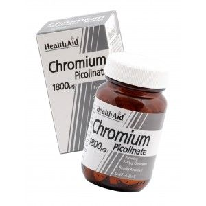 Buy HealthAid Chromium Picolinate 200ug - Nykaa