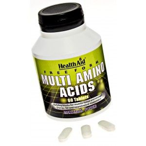 Buy HealthAid Free Form Multi Amino Acid - Nykaa