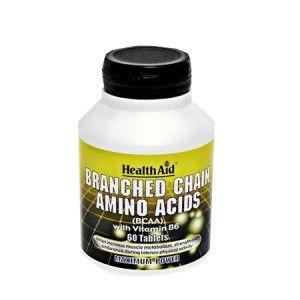 Buy HealthAid Branched Chain Amino Acids With Vitamin B6 - Nykaa