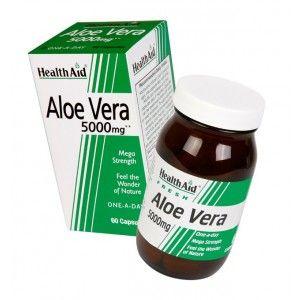 Buy HealthAid Aloe Vera 5000mg - Mega Strength - Nykaa