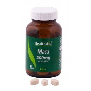 Buy HealthAid Maca 500mg - Equivalent - Nykaa