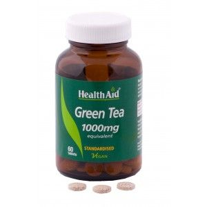 Buy HealthAid Green Tea Extract 1000mg - Equivalent - Nykaa