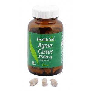Buy HealthAid Agnus Castus 550mg - Nykaa