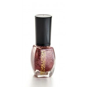 Buy Makeup Revolution Glitter Nail Polish - Nykaa