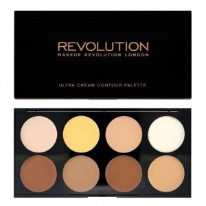 Buy Makeup Revolution Ultra Cream Contour Palette - Nykaa