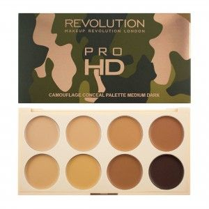 Buy Makeup Revolution Ultra Pro HD Camouflage Medium Dark - Nykaa