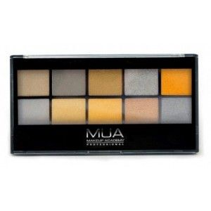 Buy MUA Going For Gold Eyeshadow Palette - Nykaa