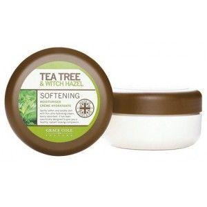 Buy Grace Cole Tea Tree & Witch Hazel Softening Moisturiser Crème - Nykaa