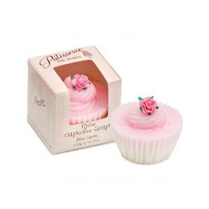 Buy Patisserie de Bain Rose Cupcake Soap   - Nykaa