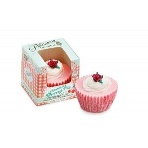 Buy Patisserie de Bain Sweet As Cherry Pie Cupcake Soap  - Nykaa
