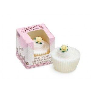Buy Patisserie de Bain Coconut Ice Cupcake Soap  - Nykaa