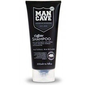 Buy ManCave Caffeine Shampoo - Nykaa