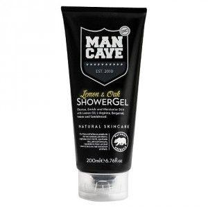 Buy ManCave Lemon & Oak Shower Gel - Nykaa