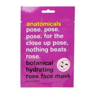 Buy Anatomicals Botanical Hydrating Rose Face Mask - Nykaa