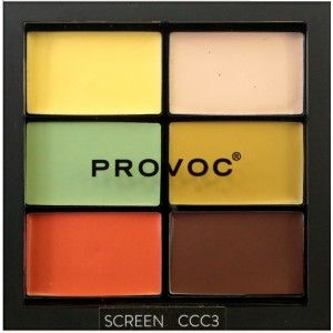 Buy Provoc Contour Correct Conceal Palette - Nykaa