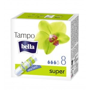 Buy Bella Tampons Super A8 New Design - Nykaa