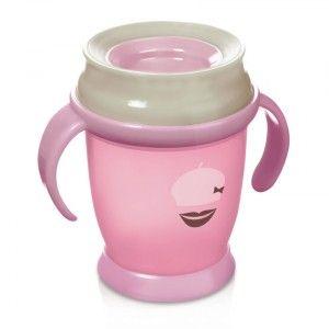 Buy Lovi 360 Degree Cup Mini Pink - Nykaa