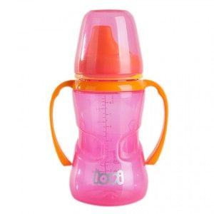 Buy Lovi No Spill Cup 12 M+ Pink - Nykaa