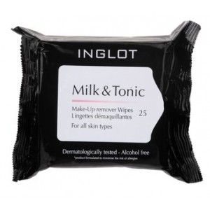 Buy Inglot Milk & Tonic Makeup Remover Wipes - Nykaa