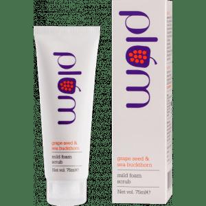 Buy Plum Grape Seed & Sea Buckthorn Mild Foam Scrub - Nykaa