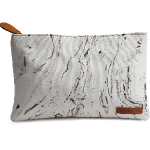 Buy DailyObjects 6 Feet Under White Marble Carry-All Pouch Medium - Nykaa