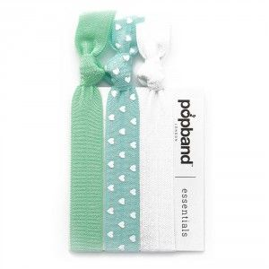Buy Popband London Essentials Mint Hair Ties - Nykaa