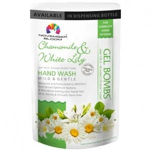 Buy November Bloom Chamomile And White Lily Hand Wash Refill Pouch - Nykaa
