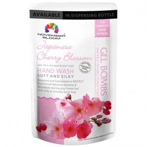 Buy November Bloom Japanese Cherry Blossom Hand Wash Refill Pouch - Nykaa