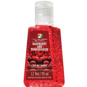 Buy November Bloom Gel Bombs Raspberry And Pomegranate Hand Sanitizer - Nykaa