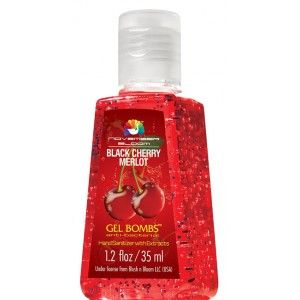 Buy November Bloom Gel Bombs Black Cherry Merlot Hand Sanitizer - Nykaa