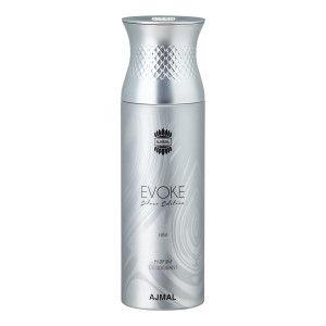 Buy Ajmal Evoke Silver Edition Parfum Deodarant For Men - Nykaa