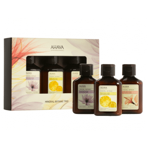 Buy AHAVA Mineral Botanic Body Lotion Trio Kit - Nykaa