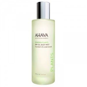 Buy AHAVA Dead Sea Plants Dry Oil Body Mist - Mandarin & Cedarwood - Nykaa