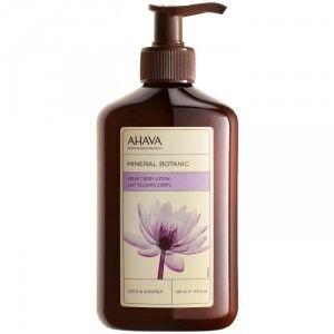 Buy AHAVA Mineral Botanic Velvet Body Lotion - Lotus & Chestnut - Nykaa