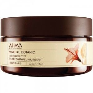 Buy AHAVA Mineral Botanic Rich Body Butter - Hibiscus & Fig - Nykaa