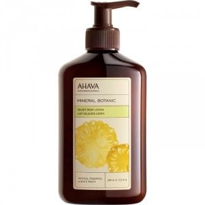 Buy AHAVA Mineral Botanic Velvet Body Lotion - Pineapple & White Peach - Nykaa