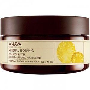 Buy AHAVA Mineral Botanic Rich Body Butter - Pineapple & White Peach - Nykaa