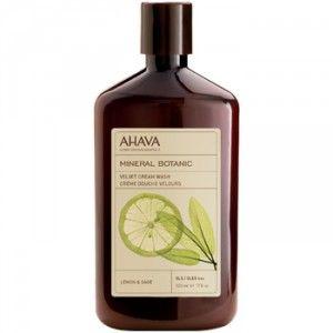 Buy AHAVA Mineral Botanic Cream Wash - Lemon & Sage - Nykaa