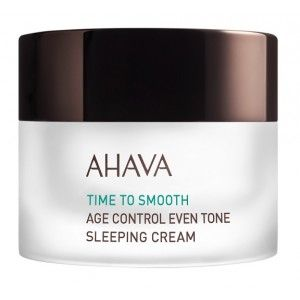 Buy AHAVA Time To Smooth Age Control Even Tone Sleeping Cream - Nykaa