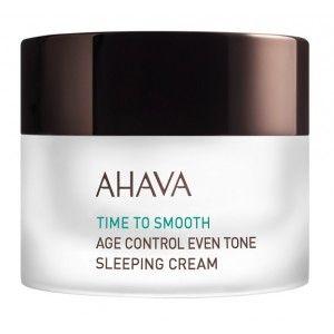 Buy AHAVA Time To Smooth Age Control Even Tone Sleeping Cream - Nykaa