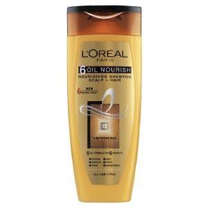 Buy L'Oreal Paris 6 Oil Nourish Shampoo - Nykaa