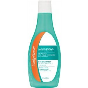 Buy Sally Hansen Moisturizing Polish Remover For Dry Brittle Nails - Nykaa