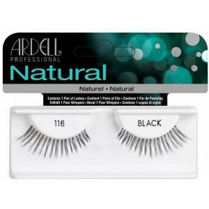 Buy Ardell Natural Strip Lashes - 116 Black - Nykaa