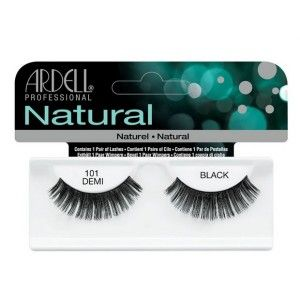 Buy Ardell Natural Strip Lashes - 101 Demi Black - Nykaa
